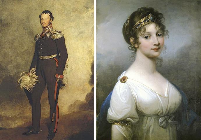 Родители — Фридрих Вильгельм III и Луиза Мекленбург Стрелицкая