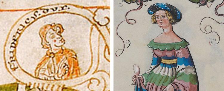 Родители — Фридрих II Одноглазый и Юдифь Баварская