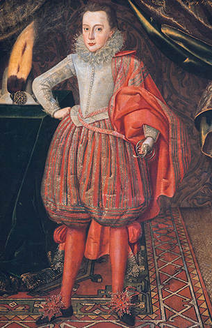 Карл I на портрете Роберта Пика, ок. 1610 г.