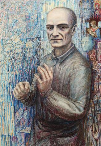 Павел Филонов на портрете