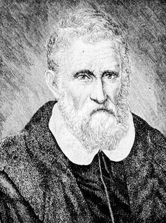 Портрет Марко Поло XVI века
