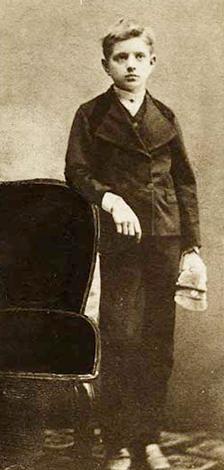 Ян Сибелиус в возрасте 11 лет (1876)
