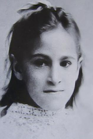 Елена Дьяконова в юности