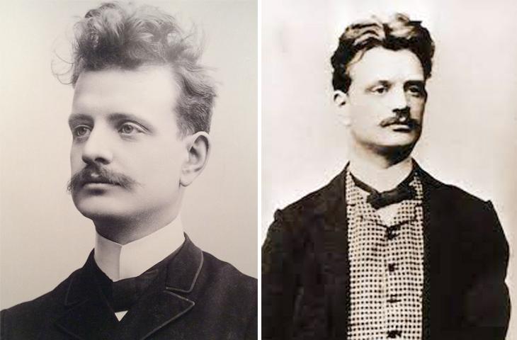 Ян Сибелиус в молодости