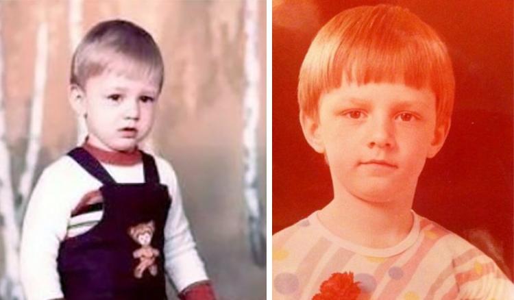 Алексей Потапенко в детстве