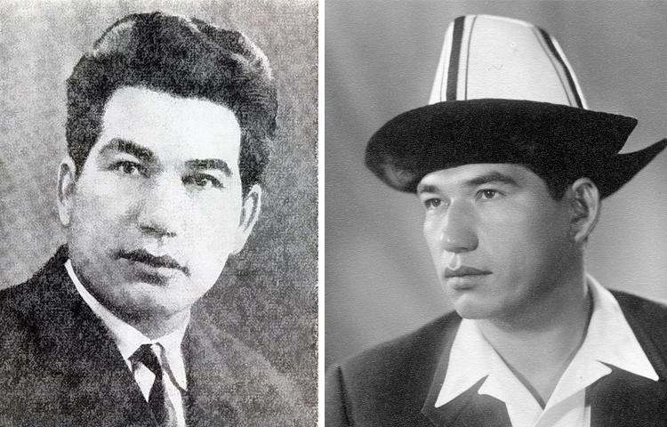 Чингиз Айтматов в молодости