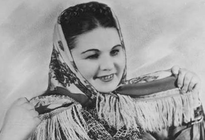 Мария Мордасова в молодости
