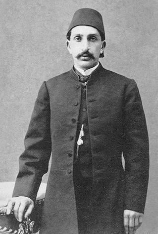 Абдул-Хамид II в 1868 г.