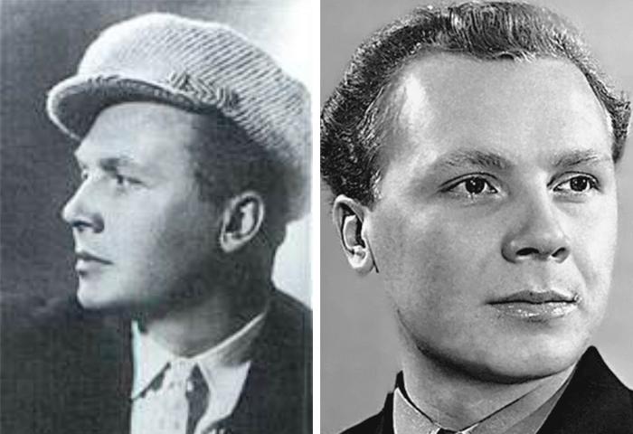 Владимир Трошин в молодости