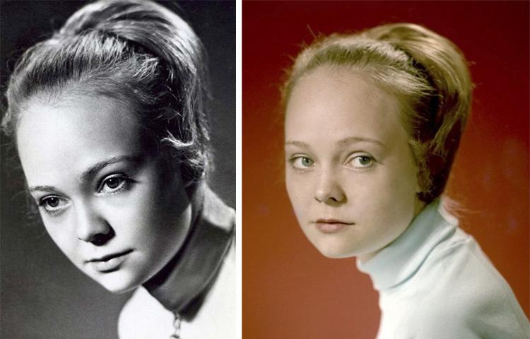 Наталия Белохвостикова в молодости