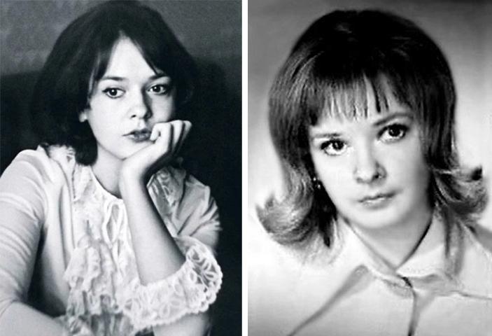 Екатерина Маркова в молодости