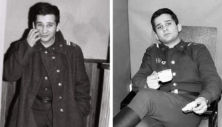 Роман Трахтенберг в армии