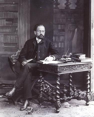 Эмиль Золя в 1885 г.