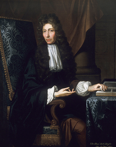 Бойль в 1689 году. Худ. Иоганн Керсебум