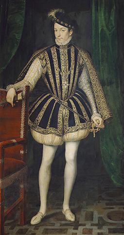 Карл IX, картина Франсуа Клуэ