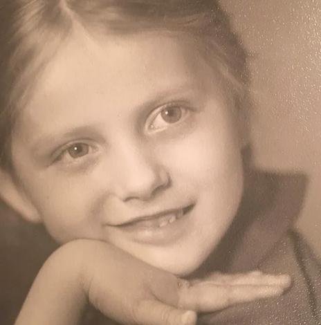 Светлана Бондарчук в детстве
