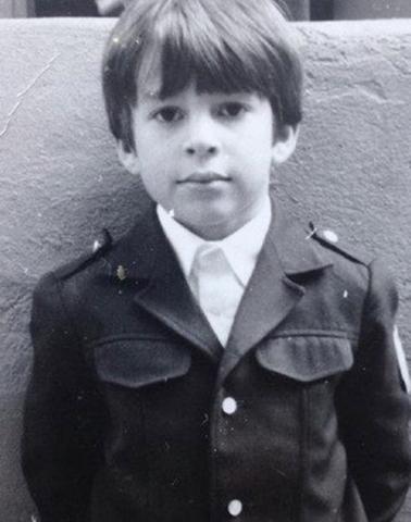 Пётр Налич в детстве