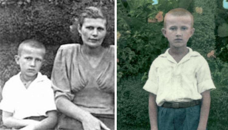 Эдуард Лимонов в детстве