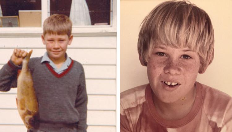 Стивен Ирвин в детстве
