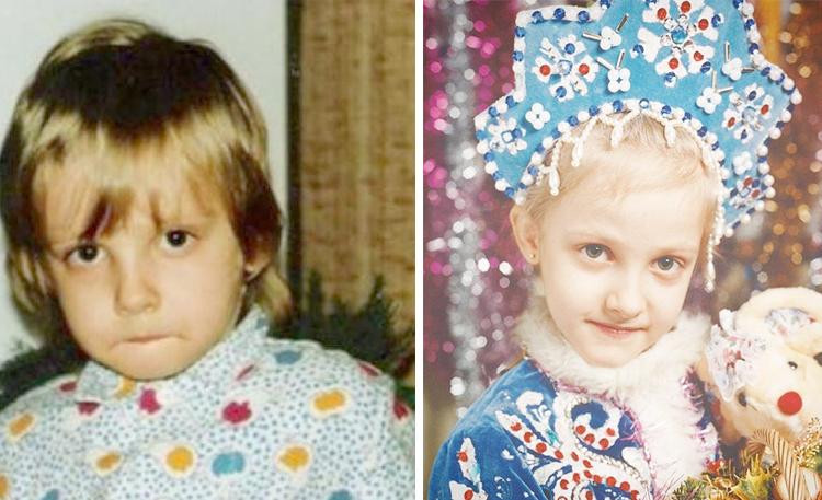 Полина Максимова в детстве