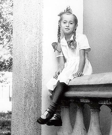 Татьяна Михалкова в детстве