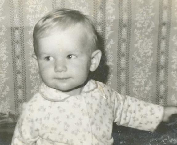 Сергей Мазаев в детстве