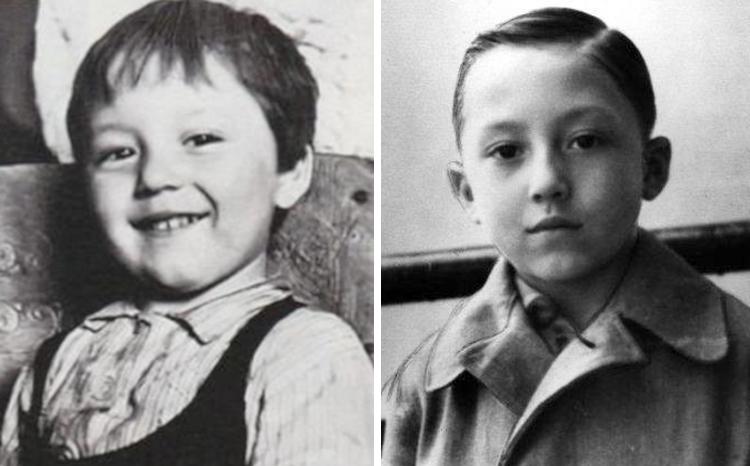 Михаил Шемякин в детстве