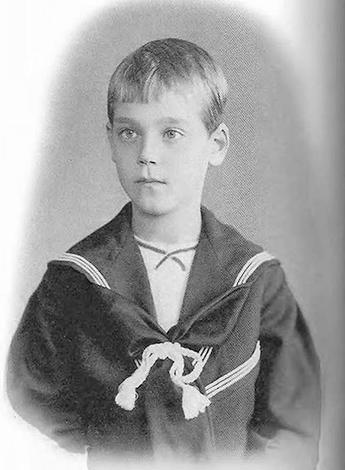 Михаил Романов в детстве