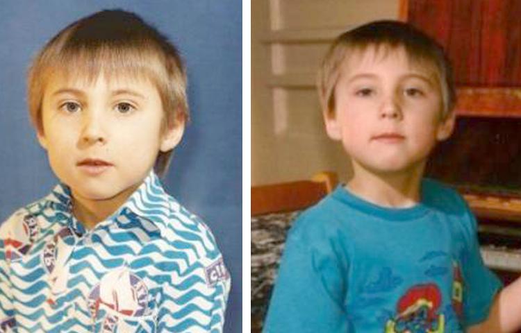 Максим Голополосов в детстве