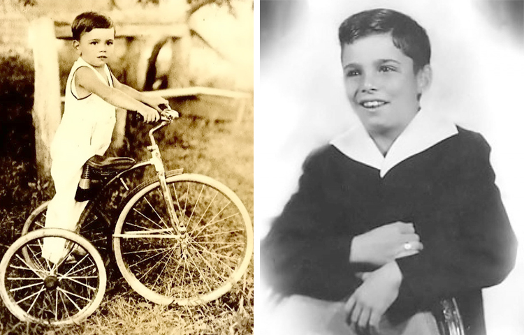 Питер Фальк в детстве