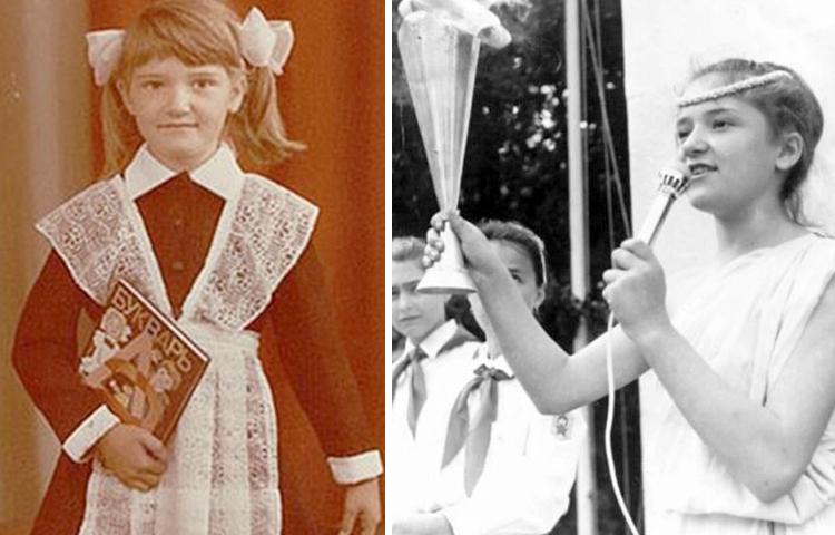 Наталия Могилевская в детстве