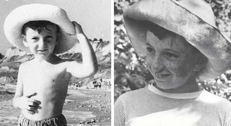Павел Лунгин в детстве