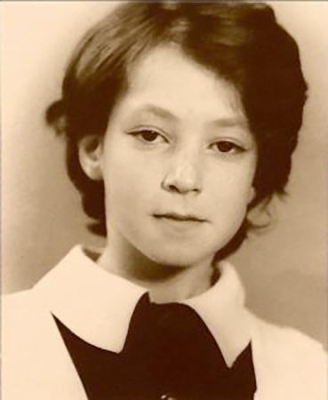 Анна Большова в детстве