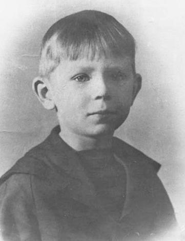Валерий Легасов в детстве