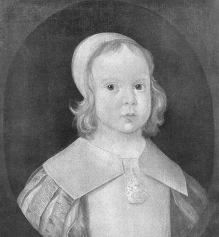 Оливер Кромвель в детстве