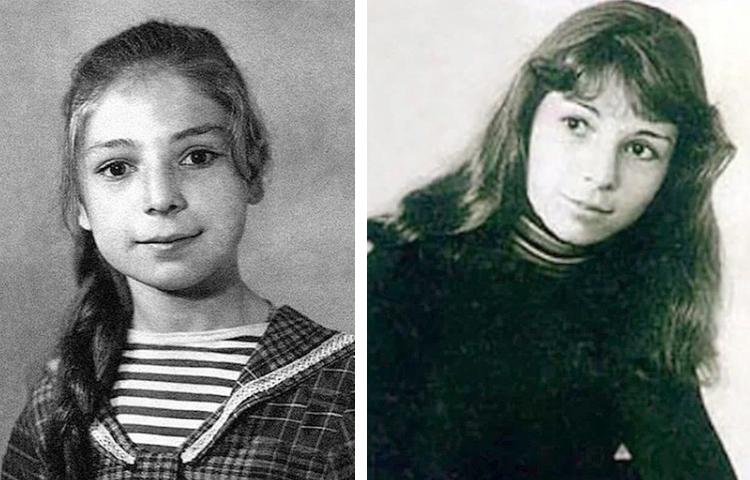 Жанна Агузарова в детстве и юности