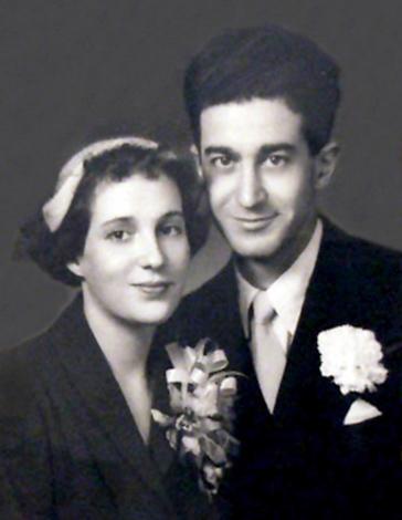 Тамара Габбе с мужем Иосифом