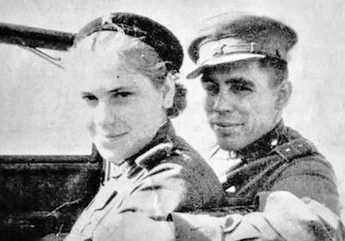 Роза Шанина и Михаил Панарин