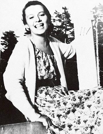 Елизавета Даль в молодости