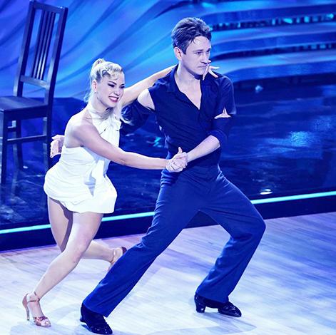 С Ульяной Максимкиной в шоу «Танцы со звездами»