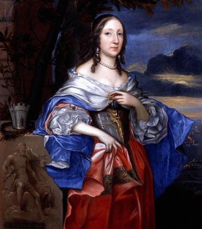 Портрет дочери Элизабет Клейпоул (1658 г.)