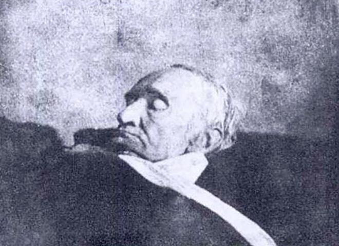 Карл Фридрих Гаусс на смертном одре
