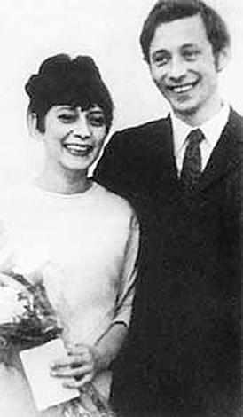 Елизавета и второй супруг Олег Даль