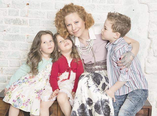 Юта с детьми