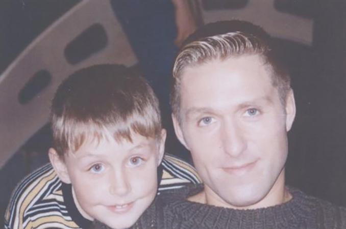Влад Соколовский с отцом