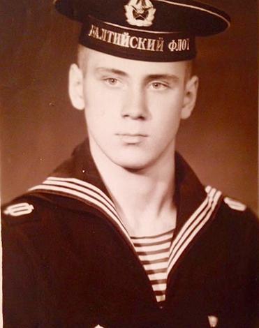 Во время службы на флоте