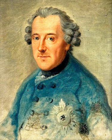 Фридрих II. Худ. Иоганн Георг Цизенис, 1763 г.