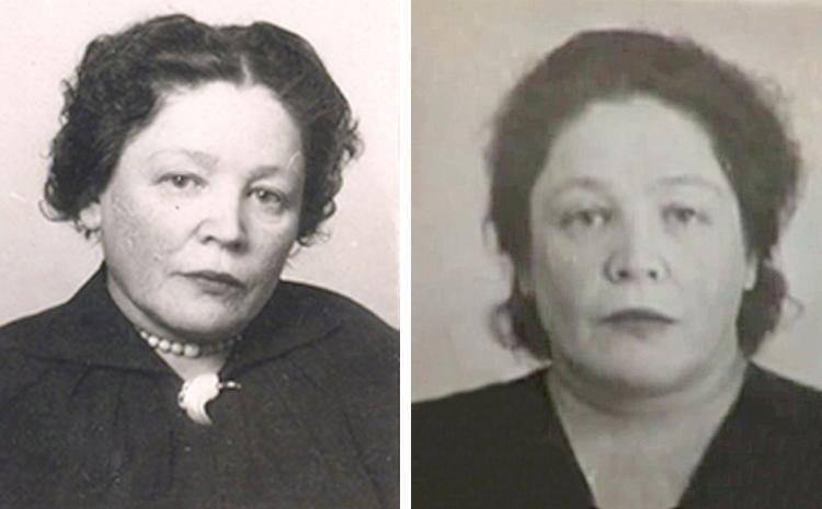 Тамара Габбе в конце 50-ых годов