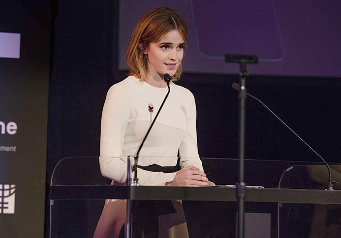 Эмма Уотсон в компании «HeForShe»