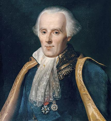 Пьер-Симон Лаплас. худ. Жан-Батист Герен, 1838 г.